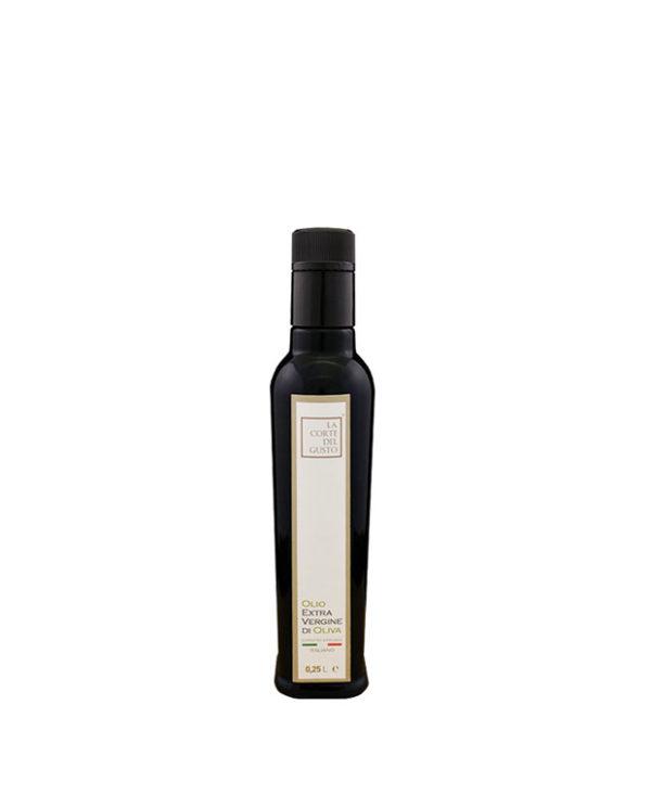 Olio Extra Vergine di Oliva_ Bottiglia da 0,25L_La Corte del Gusto