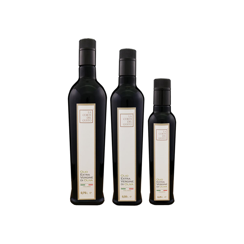 Olio Extra Vergine Tris bottiglie